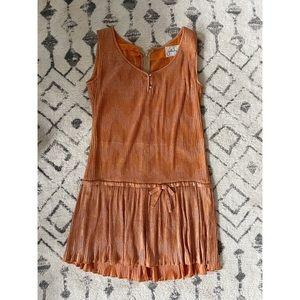 Vintage 1960s Drop-waist Dress